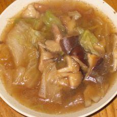 白菜香菇汤