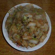 家常炒白菜