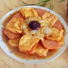 蚝油白菜豆腐----家庭版