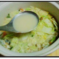 白菜鱼头汤