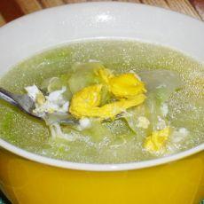 白菜鸡蛋花汤