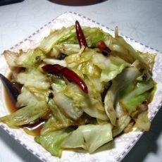 椒香圆白菜