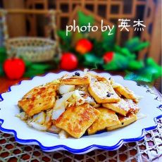 素烩脆皮豆腐