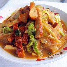 素鸡炒白菜