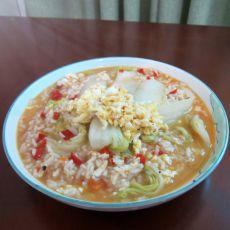 白菜煮剩饭