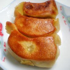 白菜猪肉水煎饺