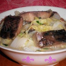 腊鱼炒白菜