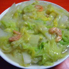 虾干白菜的做法