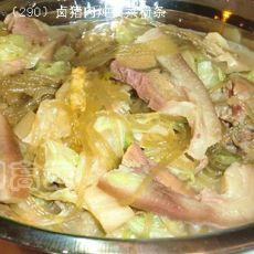 【原创首发】卤猪肉炖白菜粉条