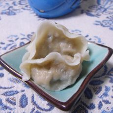 白菜鸡蛋饺子