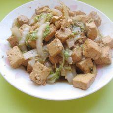 白菜烧豆腐的做法