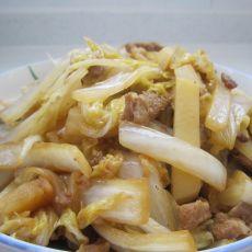 白菜炒土豆