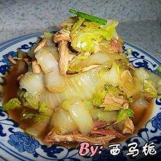 芥末鸡丝白菜
