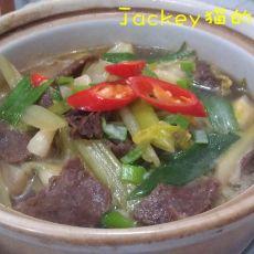 牛肉白菜煲的做法