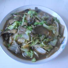 白菜炖蘑菇