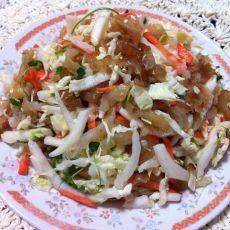 白菜拌海蜇皮