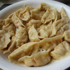 白菜胡萝卜肉饺子