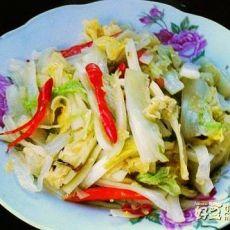 辣炒白菜条