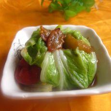白菜茄子煎