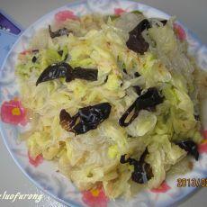 白菜炒粉丝的做法