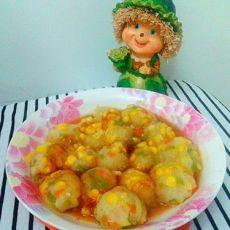 让挑食孩子爱上吃蔬菜――杂蔬丸子