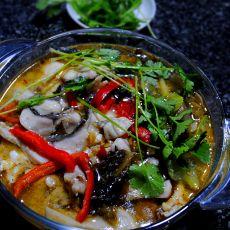 酸菜黑鱼汤的做法