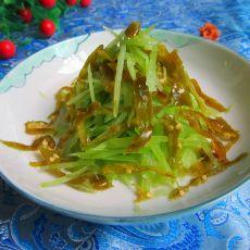 酸辣椒炝莴笋丝的做法