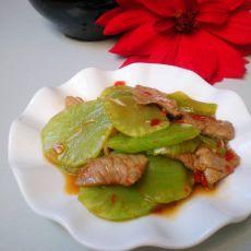 莴笋炒肉片