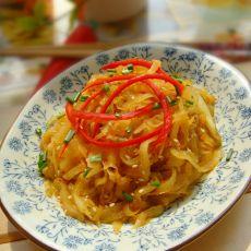 麻油拌土豆莴笋丝