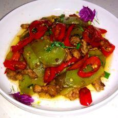 莴笋炒肉的做法