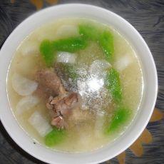 莴笋萝卜骨头汤