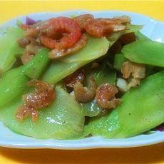 虾米炒莴笋