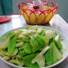 土豆炒双笋