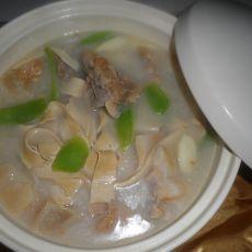 砂锅咸肉煲