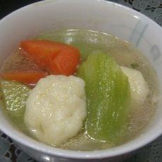 莴笋鱼丸汤