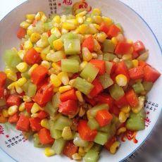 素炒蔬菜三丁