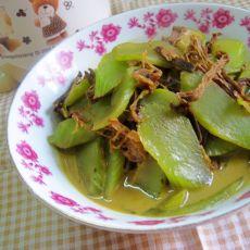 高汤梅菜炒莴笋的做法