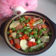 竹笋午餐煲的做法