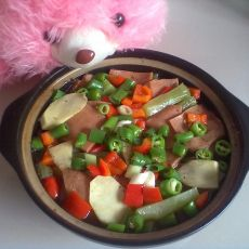竹笋午餐煲