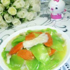 平菇炒莴笋