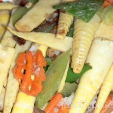 鱼片炒鲜笋的做法