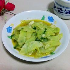 小炒莴笋片