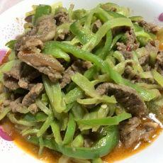 莴笋丝炒牛肉