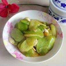 清炒黄瓜笋片