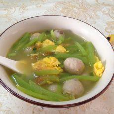 莴笋肉丸汤