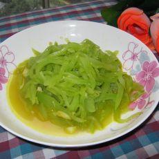 蒜香莴笋丝