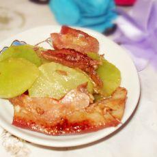 莴笋炒猪头肉
