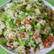 生菜火腿炒饭