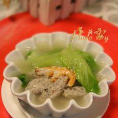 鲮鱼滑生菜汤