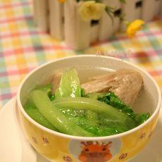 生菜鸭翅汤